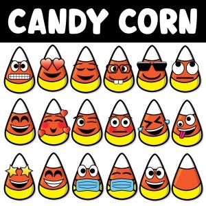 Candy Corn Clip Art