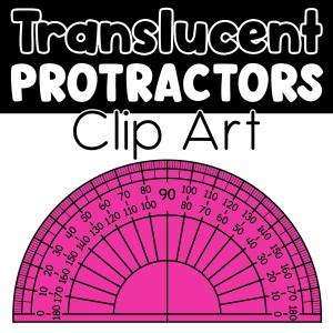 Protractors Clip Art