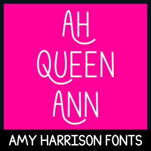 AHQueenAnn Font