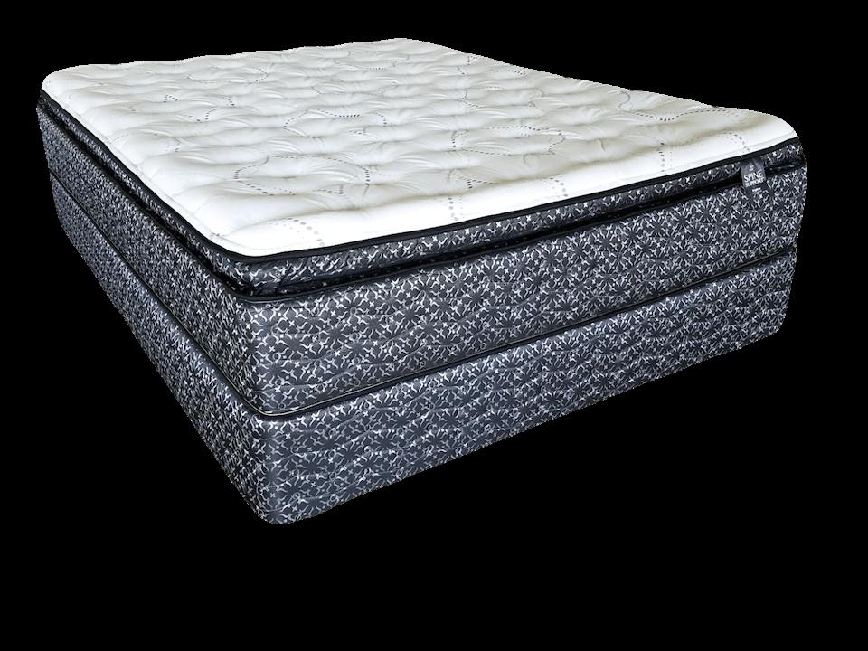 therapedic brighton plush pillow top mattress