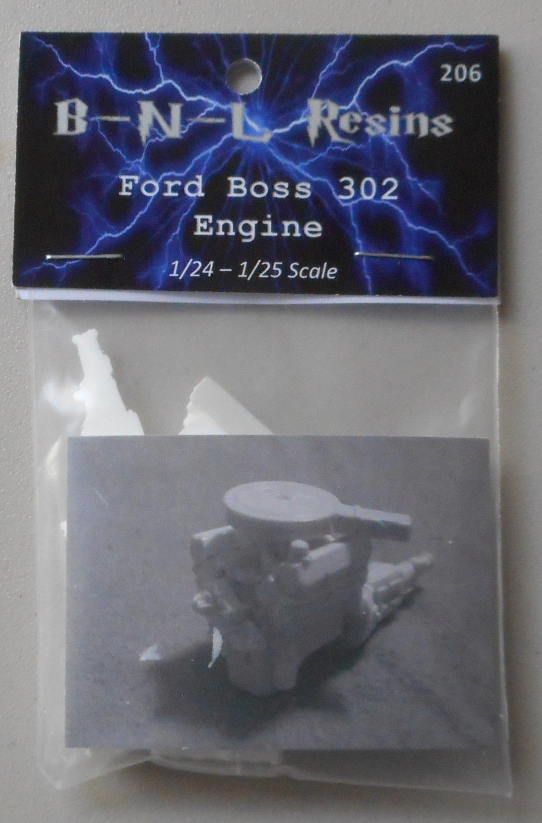 Ford Boss 302 Engine Kit Bnl Resins 124 Car Modeling Accessory For A Wiring Harness Kits