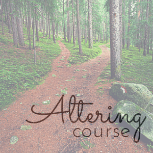 altering course