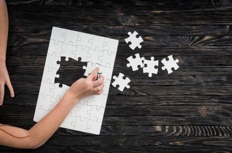 solving the puzzle