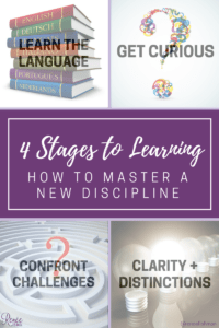 4 Stages to Mastery in a new discipline