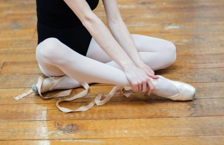 injured dancer