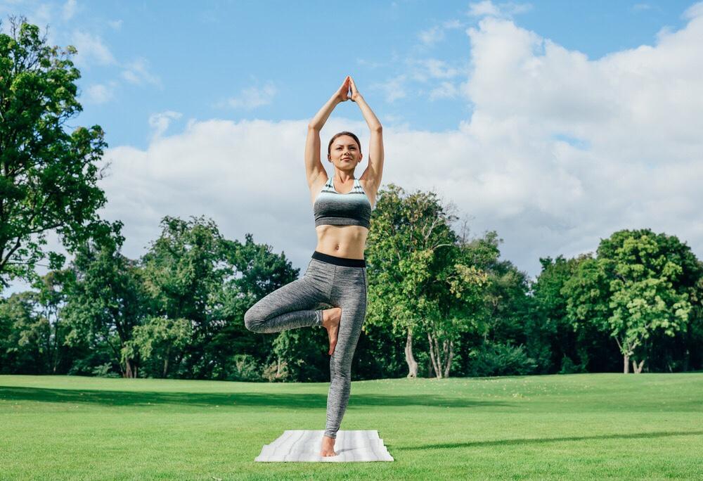 tree pose practice yoga