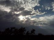 South Texas clouds