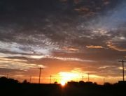 Sunset over South Texas