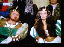 The King and Queen are stunned about the princess choice of dance partner
