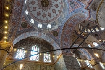 Inside the Blue Mosque