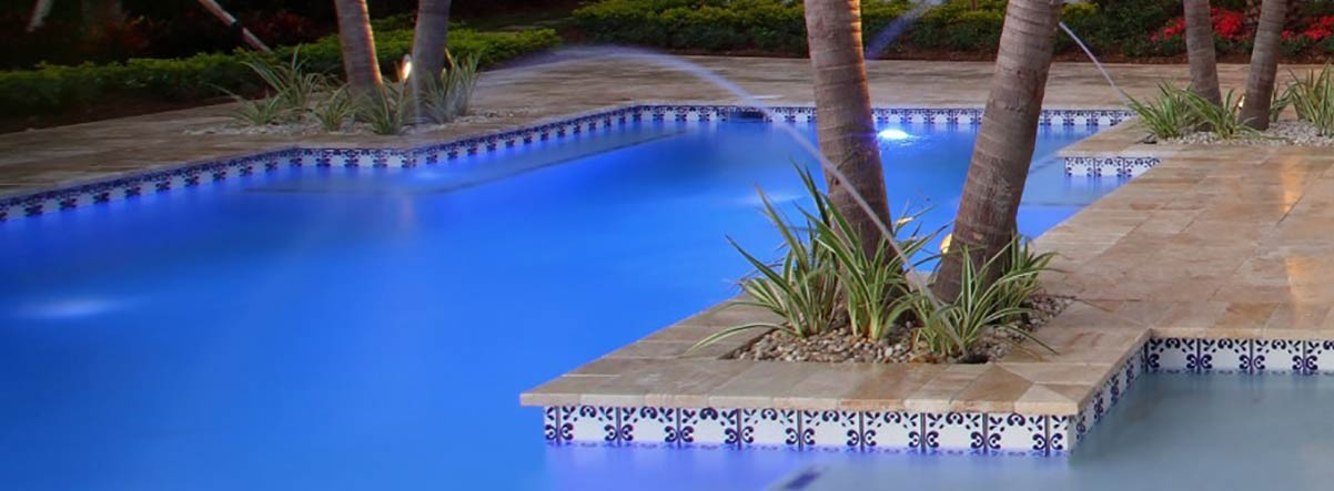 mexican tiles for a swimming pool