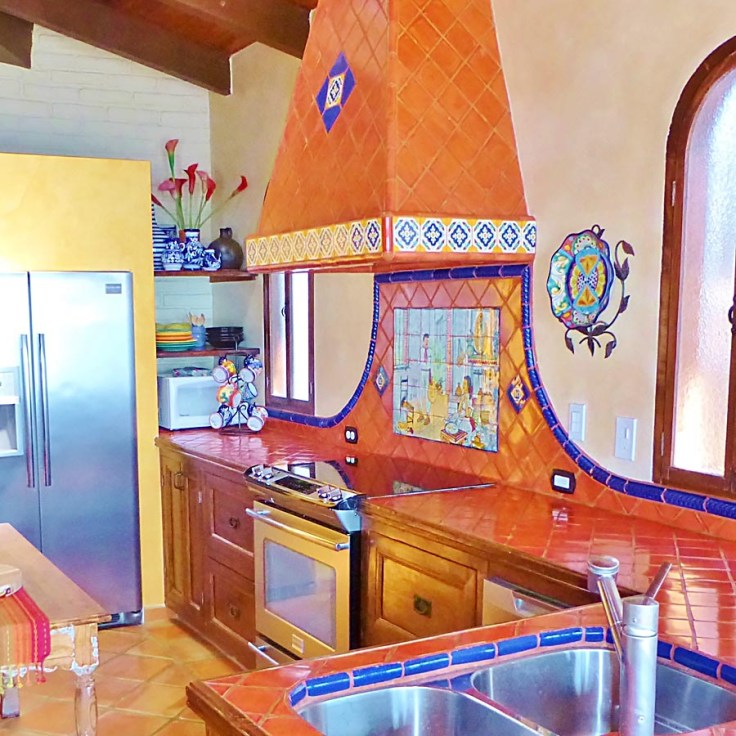 painted kitchen tile mural collection