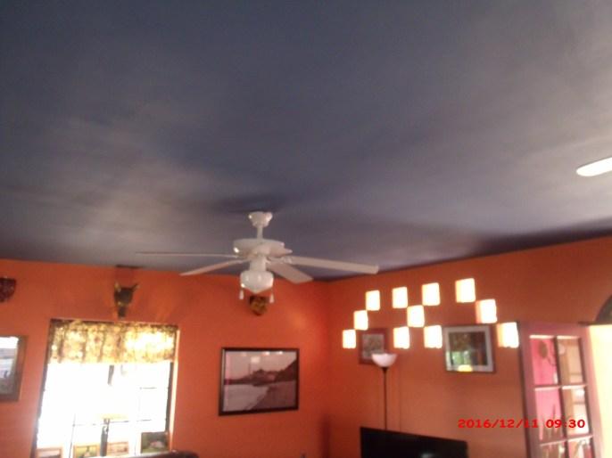 Previous ceiling