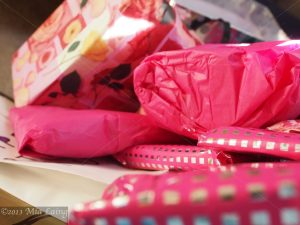 Pink Paper Packages