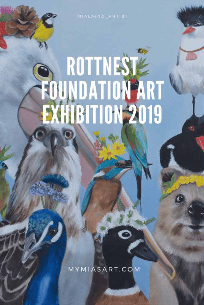Rottnest Island Foundation art exhibition 2019 - Mia Laing artist