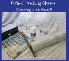 How to Upcycle Glass with Etching