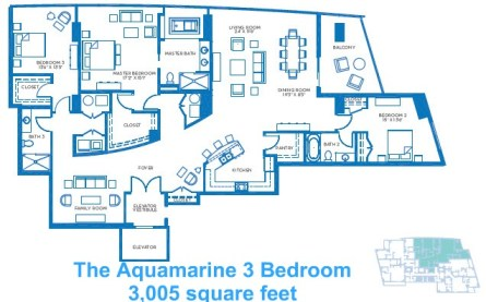 The Aquamarine 3 Bedroom