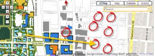 Condo Map Cornerstone Village
