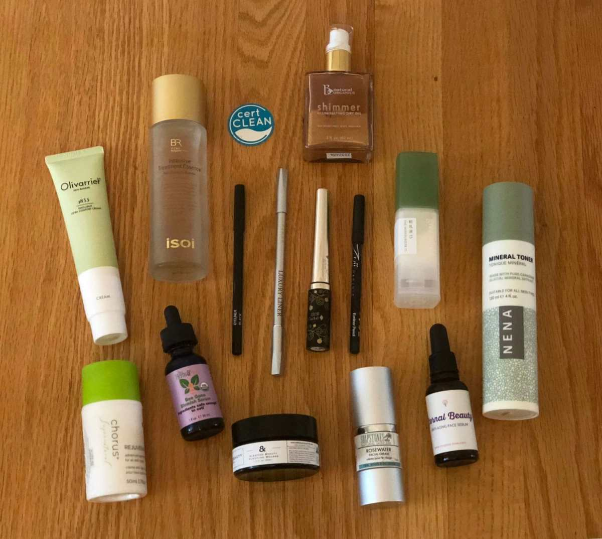 Clean Beauty Awards for Face Care and Eye Liners 2018