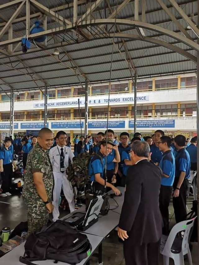 The exhibition and programme aims to attract more non-Malays, particularly the Chinese community, to join the Malaysian Armed Forces.
