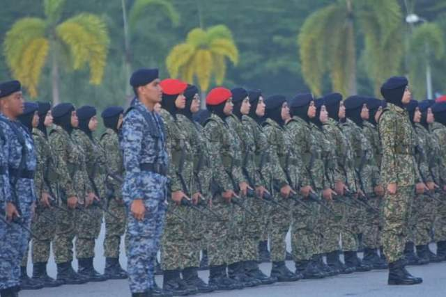 Female Contingent from the MAF
