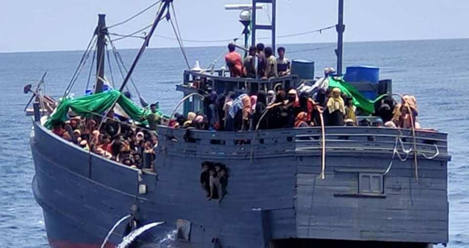 Rohingya illegal boat