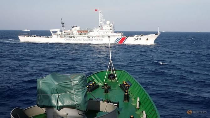 Chinese Coast Guard 3411 near Malaysian Waters