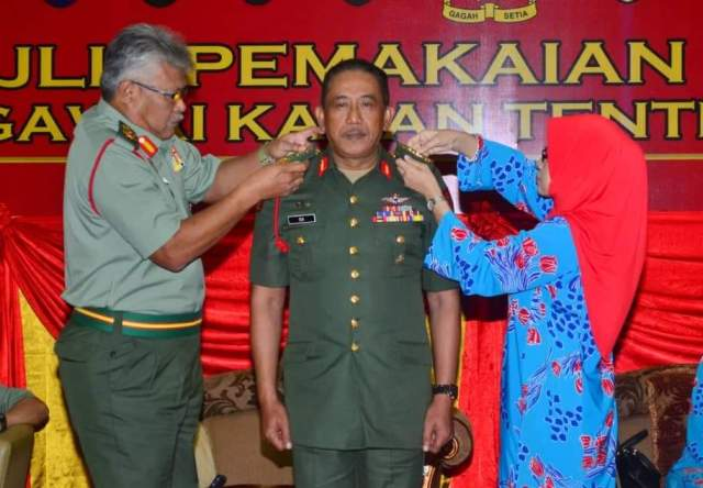 MG Mohd Isa Jaafar appointed as Chief of Staff, Army HQ