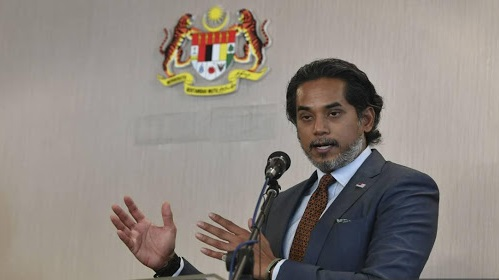Science, Technology and Innovation (MOSTI) Minister Khairy Jamaluddin speaking on the plans to develop and manufacture COVID-19 vaccines in Malaysia.