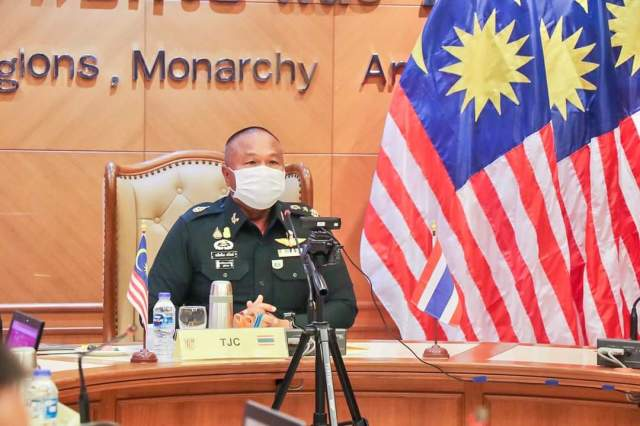 Malaysia-Thailand Regional Border Committee Conference 2021.