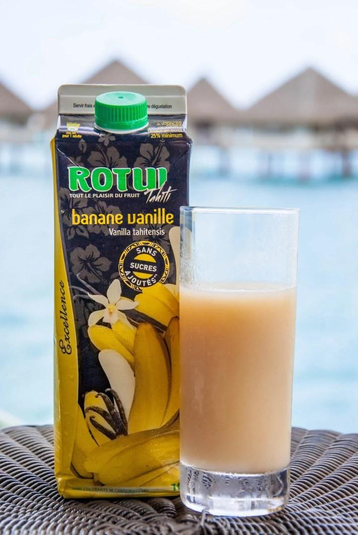 Banana Juice in Bora Bora