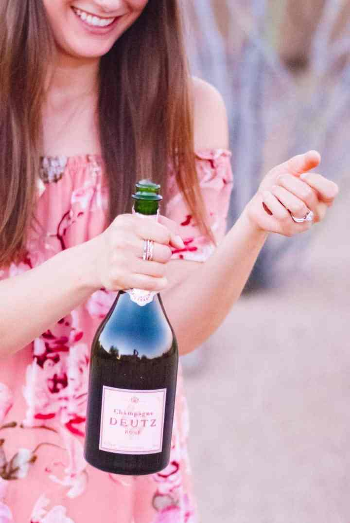 The Ultimate Food and Wine Pairing: Rosé Champagne pairs with everything!