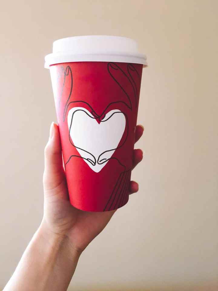 What a dietitian eats in a week - Starbucks holiday up