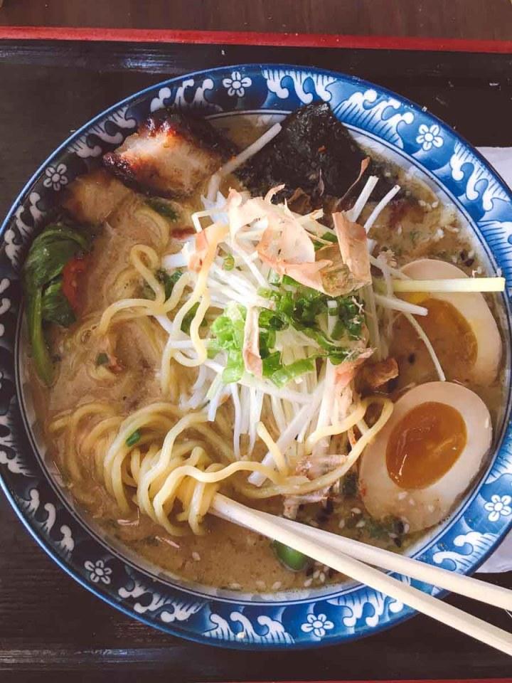 What a dietitian eats in a week - bowl of ramen