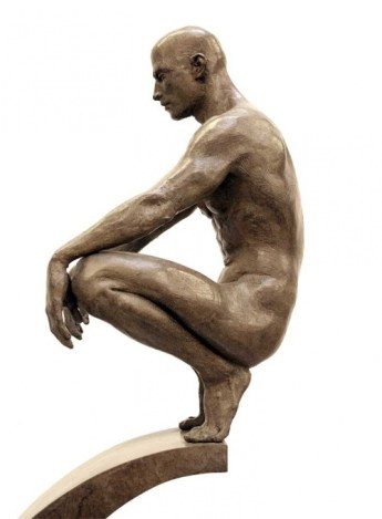 Contemplation, 2008, 46 x 8 x 14 inches Roger Reutimann3
