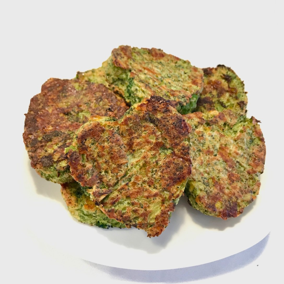 Heart shaped broccoli patties to help add back the romance.