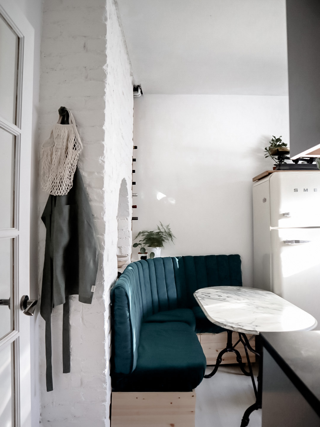 How To Build A Kitchen Paneled Booth With Storage