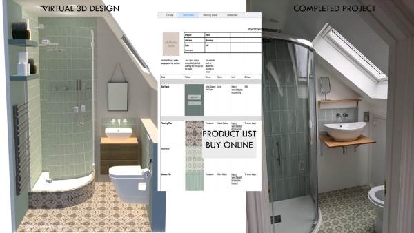 bathroom online layout