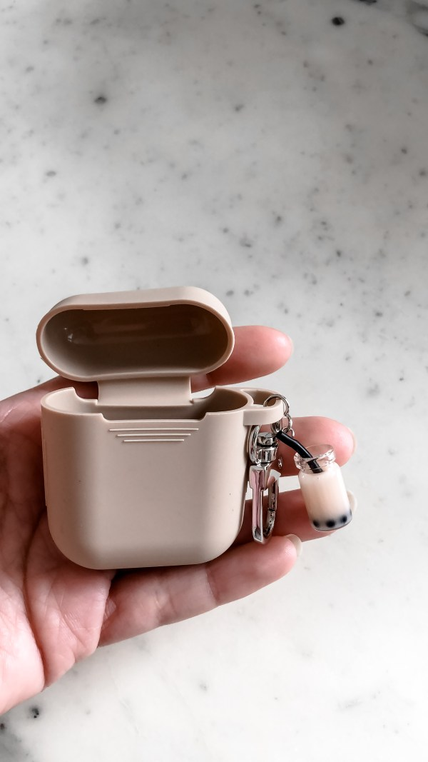 cute nude case without airpods