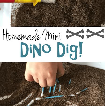 Homemade Dinosaur Dig!
