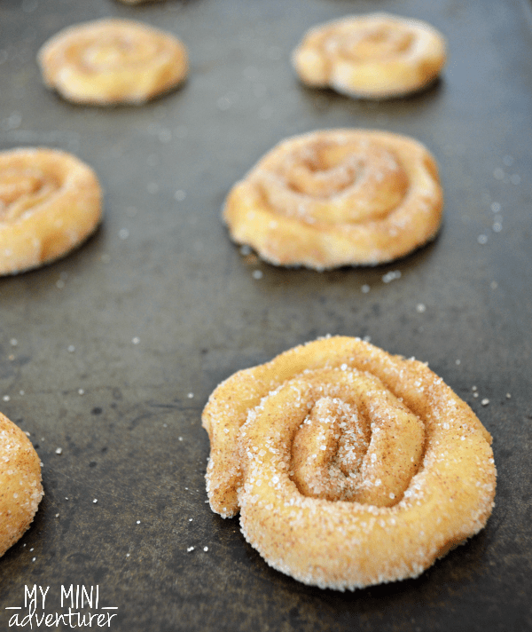 Cinnamon Roll Cookies pre baking