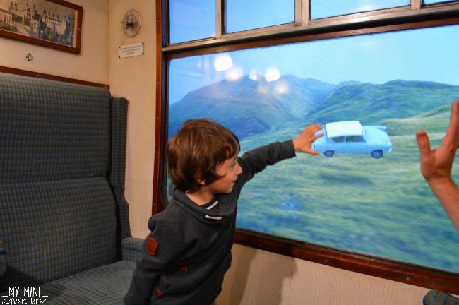 HP interactive train