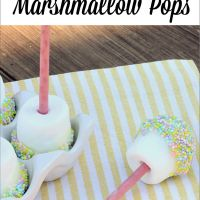 Easter Dessert: Marshmallow Pops - Uncommon Designs