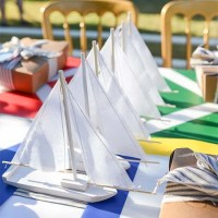 Nautical Rain Gutter Regatta Party