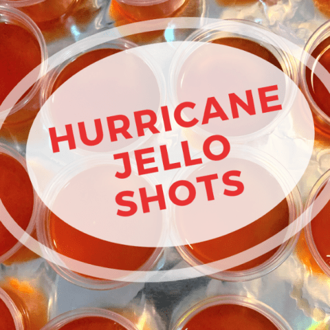 Hurricane Jello Shots
