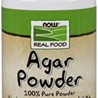 Agar Pure Powder, Vegetarian Substitute for Gelatin, Gluten-free, Kosher (Pack of 1)