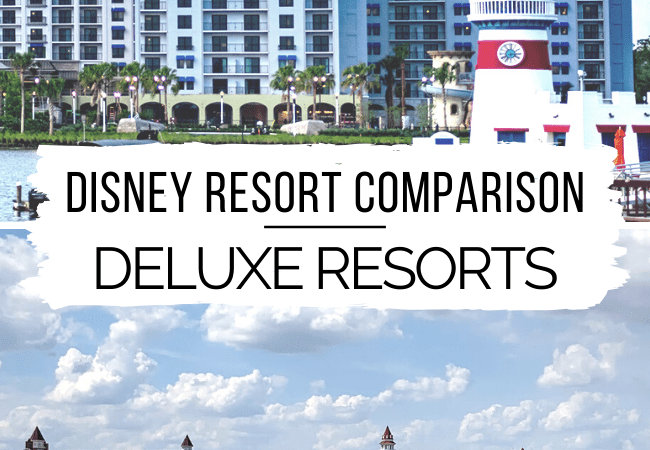 Disney Resort Comparison: Deluxe Resorts