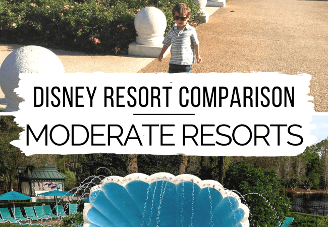 Disney Resort Comparison: Moderate Resorts