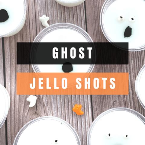 Ghost Jello Shots