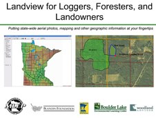 Landview for Loggers, Foresters, and Landowners - Section 1